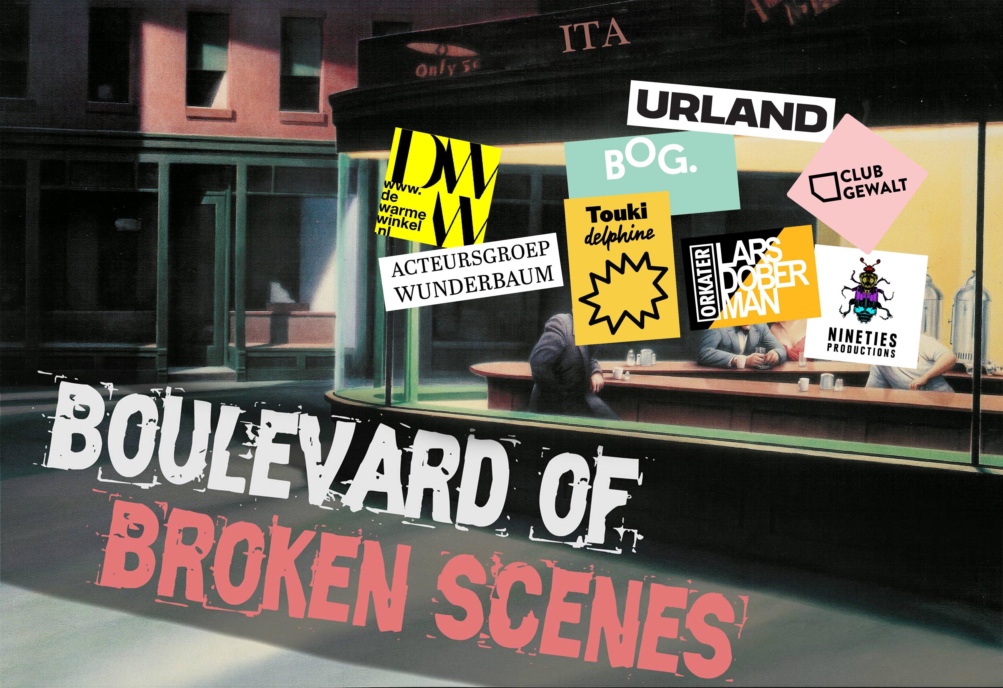 Boulevard of broken scenes