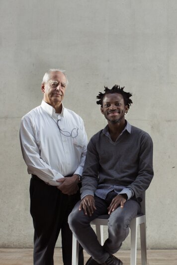 Gesprek William Kentridge & Faustin Linyekula