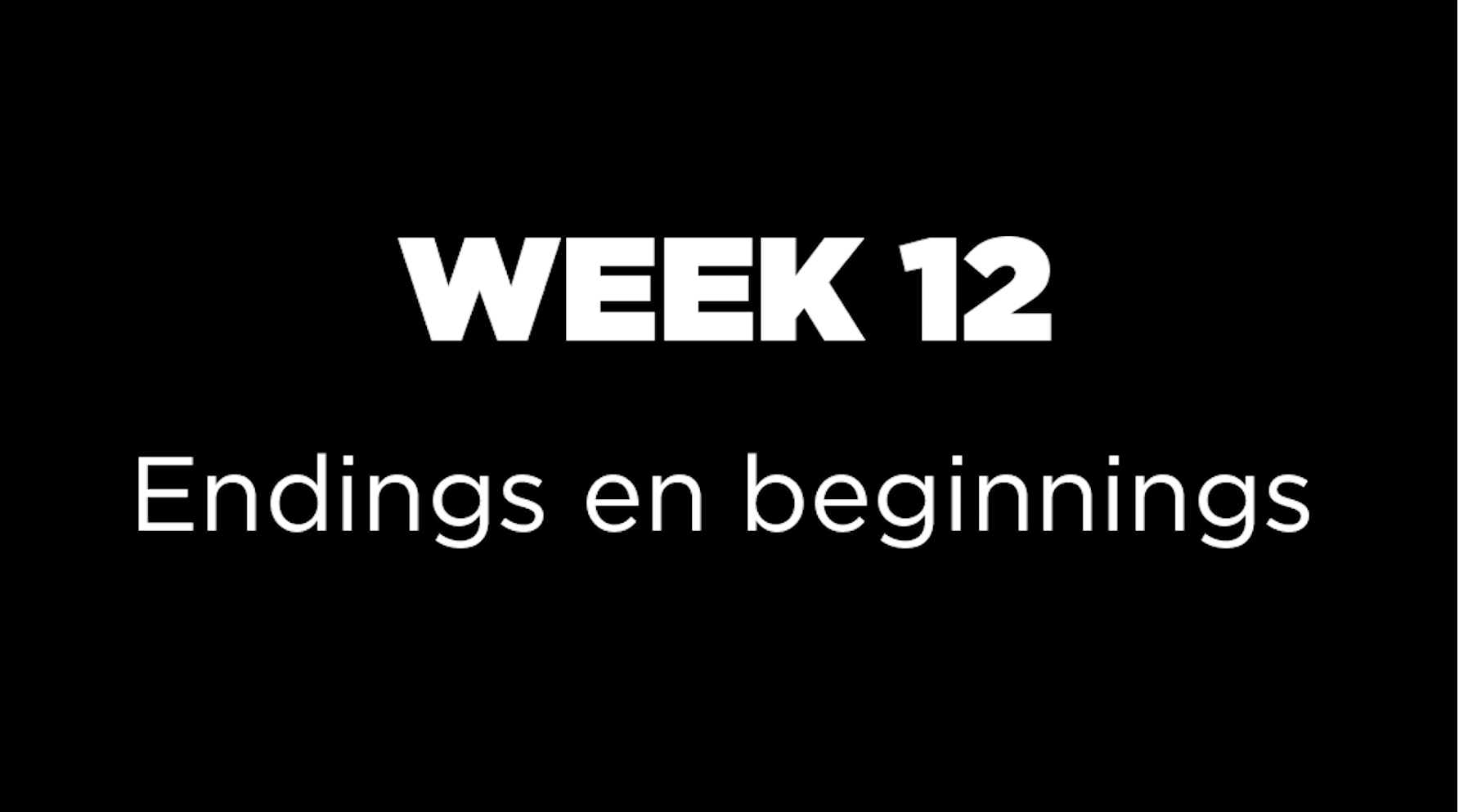 The Coronavirus Time Capsule - week 12