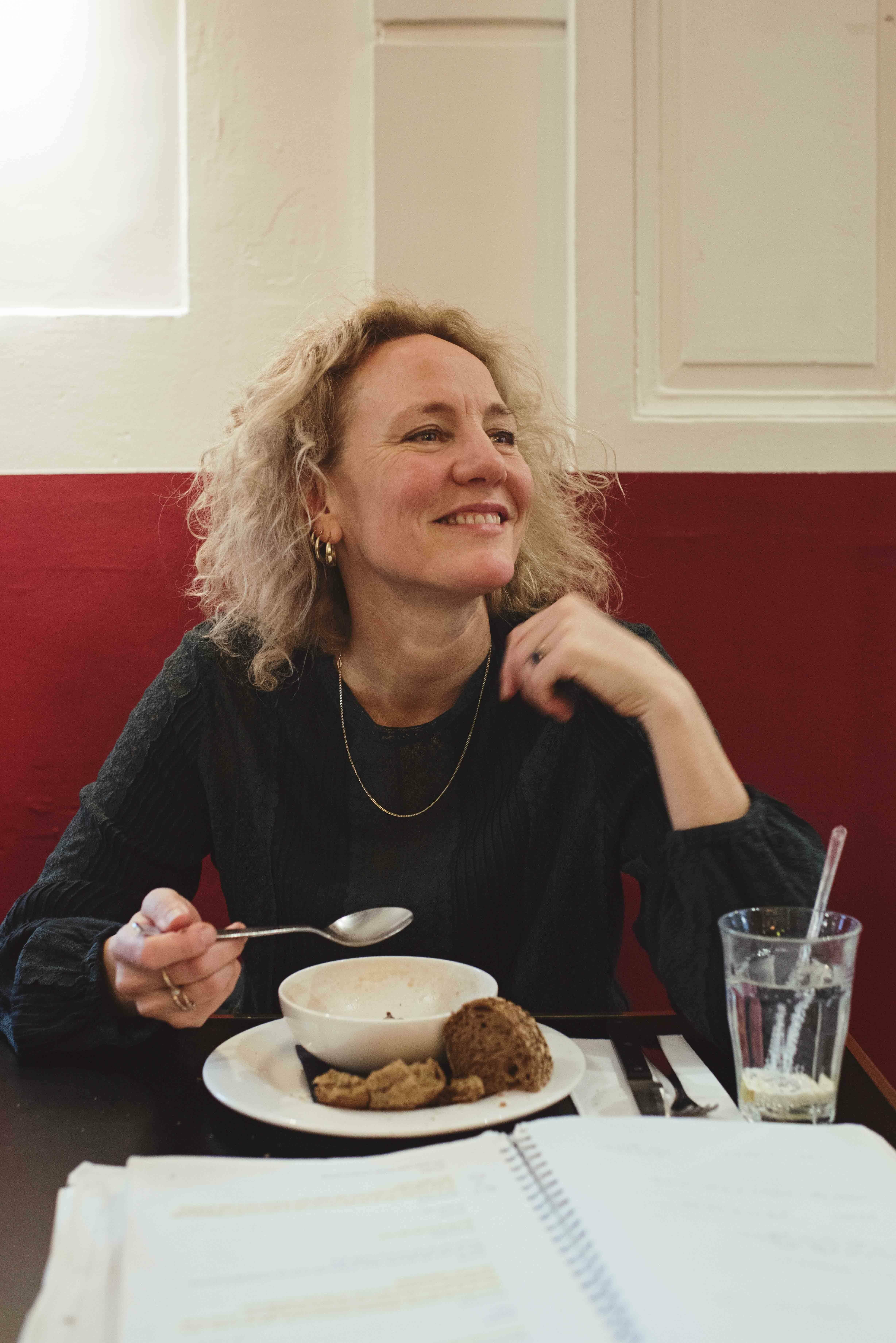 Lunchen met Janni Goslinga