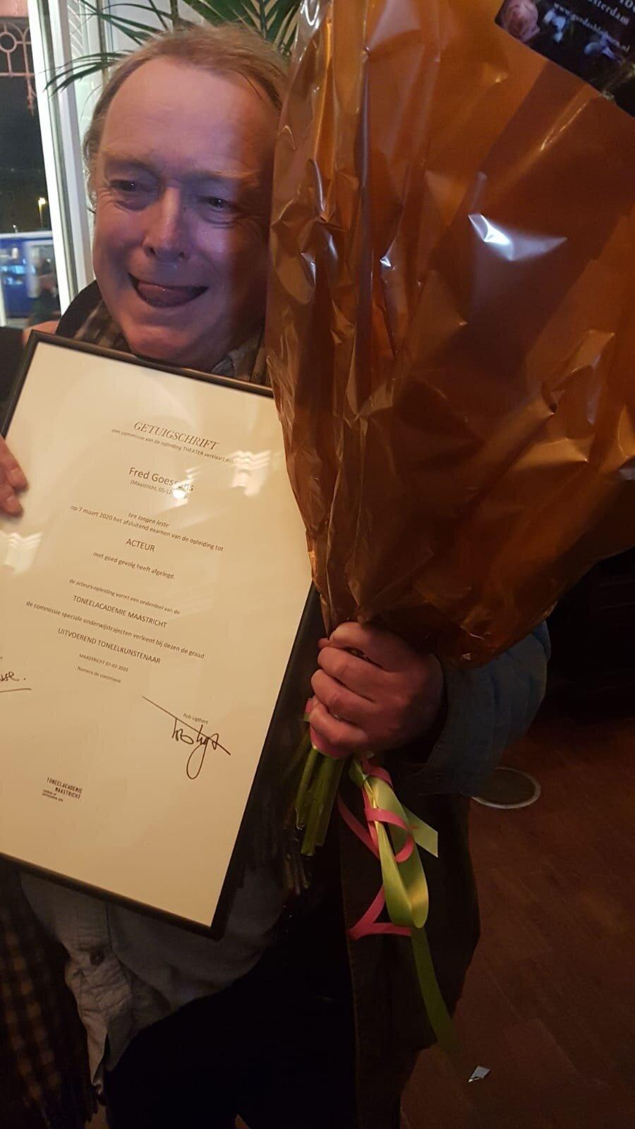 Fred Goessens neemt afscheid van ITA-ensemble