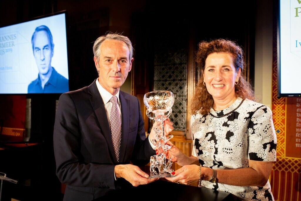 Ivo van Hove ontvangt Johannes Vermeer Prijs